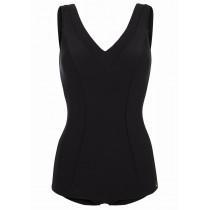 Felina Badeanzug mit Schale 5201201 Basic Line solid black
