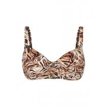Felina Bikini Top mit Bügel 5256297 Fancy Fur black marble tiger